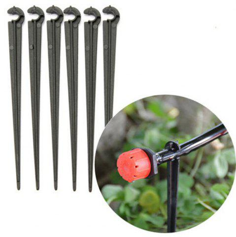 Trendy 10pcs 4 / 7mm C-Type Pipe Clip Clamp Bracket Holder Garden Watering Accessories