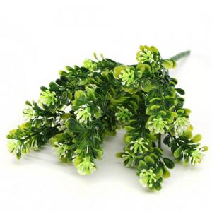 1 Bouquet Artificial Green Home Decor Plastic Flower Crafts Wedding Garden Fashion Decoration -