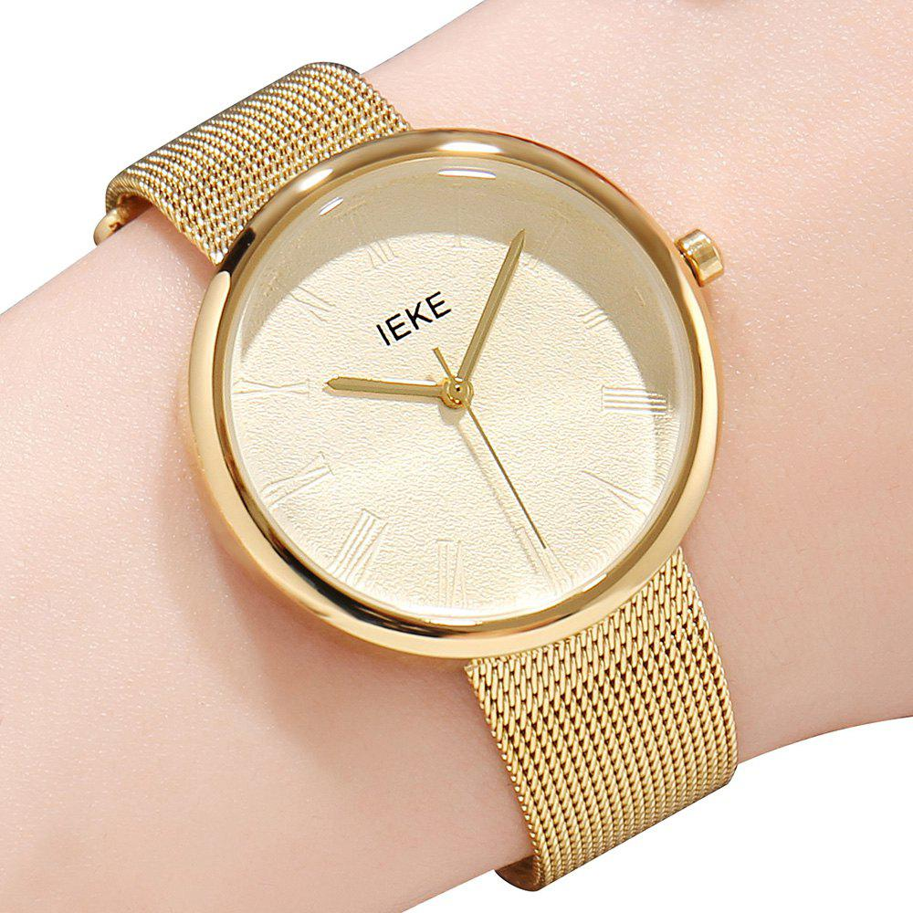 Shop IEKE88007 Rome Word Belt Ladies Women Stylish Luxury Brand Steel Quartz Watch