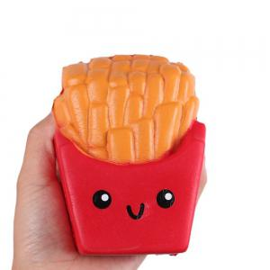 Slow Rising Squishies Jumbo French Fries Scented Squeeze Easter Stress Relief Toy -