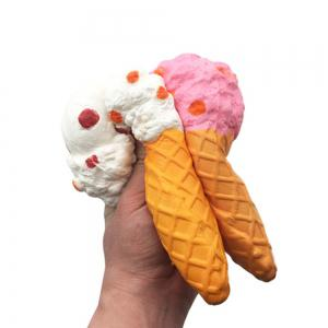 Squishy Cute Ice Cream Cone Squishies Slow Rising Kawaii Cake Scented of Decompression Toys -