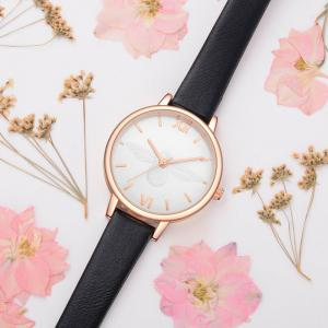 Xinge XG1097 Women Leather Strap Bee Dial Quartz Watches with Box -