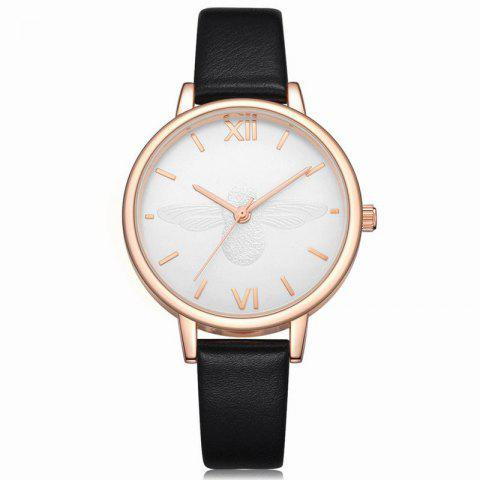 Online Xinge XG1097 Women Leather Strap Bee Dial Quartz Watches with Box