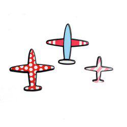 Cartoon Set Airplane Airplane Fashion Brooches Brooch Pins for Girls Backpack Flap Collar Bag Clothing Badge Button -