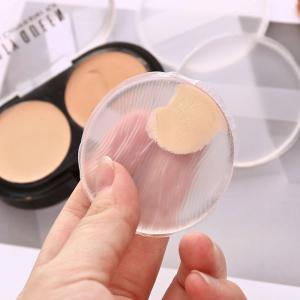 Transparent Silicone BB Frost Cushion Puff -