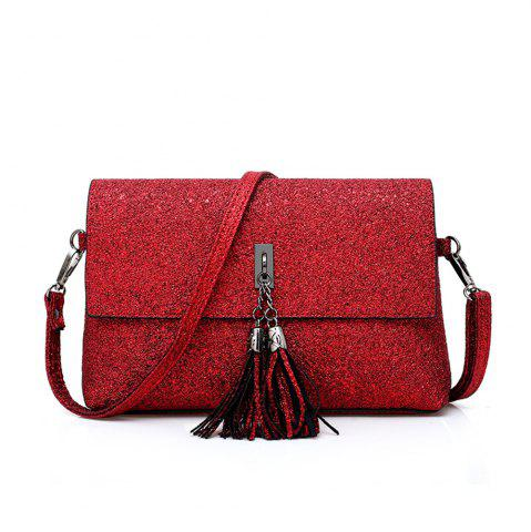 Sale tassel single shoulder bag
