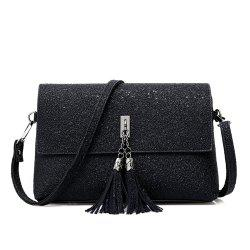 tassel single shoulder bag -