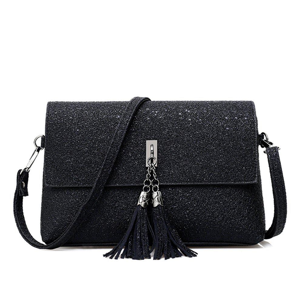 Latest tassel single shoulder bag