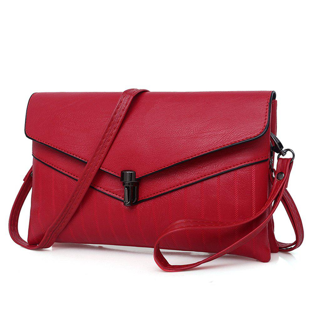Trendy female  two-piece envelope bag