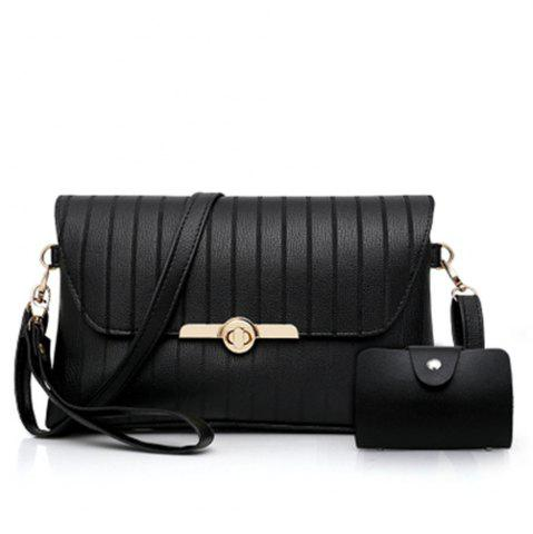 Cheap female embroider line one shoulder inclined across the envelope bag