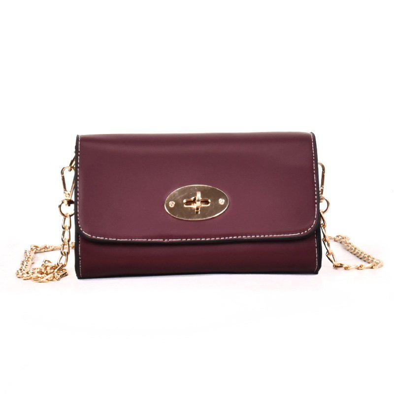 Online Small Square Bag Shoulder Messenger Bag