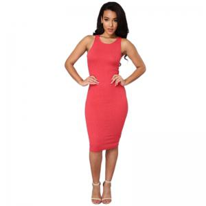 Daifansen T-shirt sans manches Sexy Halter Dress -