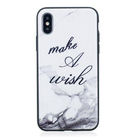 Hot Case For IPhone X Color Painting Cover TPU Phone Protection Shell