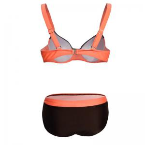 Split Swimsuit Stitching Bikini Set -