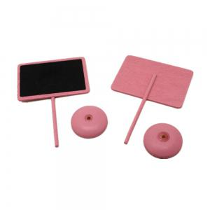171019 Creative Blackboard Pink Wooden Crafts Decorative Ornaments Home Furnishing (Pack of 10) -