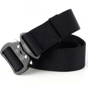 Quick Dry Tactical Heavy Duty Waist Belt  Quick-Release Military Style Shooters Nylon Belts with Metal Buckle -