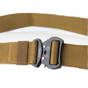 ENNIU Quick Dry Tactical Heavy Duty Waist Belt  Quick-Release Military Style Shooters Nylon Belts with Metal Buckle -