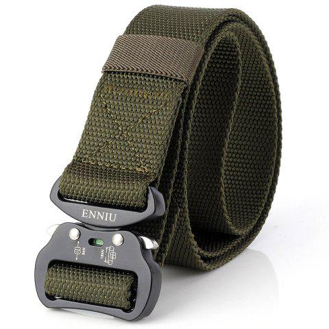 Chic Quick Dry Tactical Heavy Duty Waist Belt  Quick-Release Military Style Shooters Nylon Belts with Metal Buckle