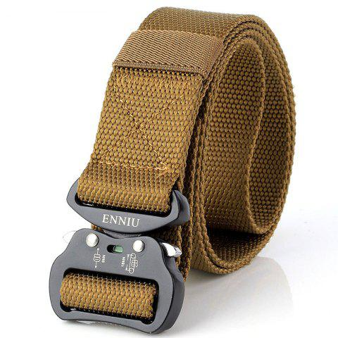 Best ENNIU Quick Dry Tactical Heavy Duty Waist Belt  Quick-Release Military Style Shooters Nylon Belts with Metal Buckle