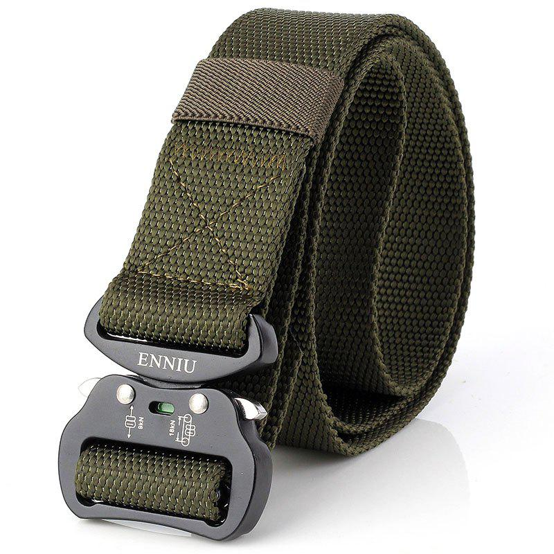 Chic ENNIU Quick Dry Tactical Heavy Duty Waist Belt  Quick-Release Military Style Shooters Nylon Belts with Metal Buckle