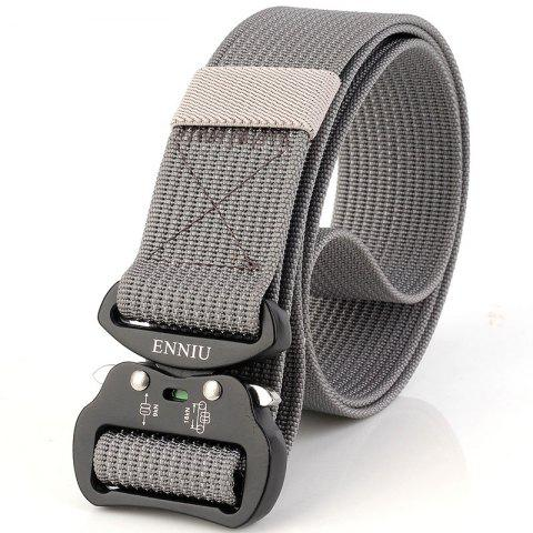 New Quick Dry Tactical Belt Quick-Release Military Style Shooters Belt with Metal Buckle