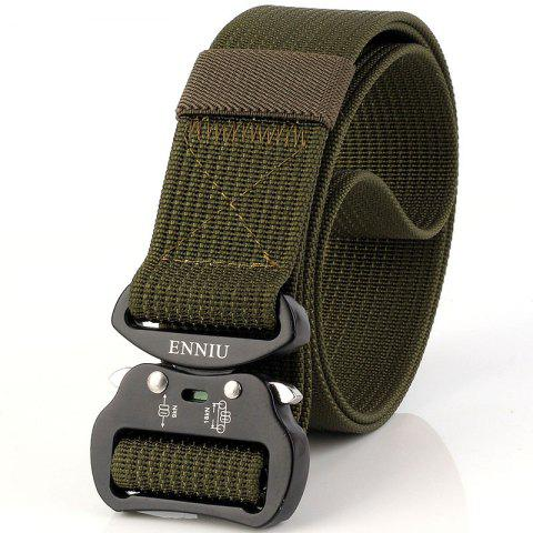 Fancy Quick Dry Tactical Belt Quick-Release Military Style Shooters Belt with Metal Buckle