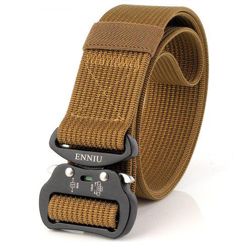Fashion ENNIU Quick Dry Tactical Belt Quick-Release Military Style Shooters Belt with Metal Buckle