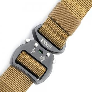 Tactical Heavy Duty Waist Belt Quick-Release Military Style Shooters Belt with Metal Buckle -