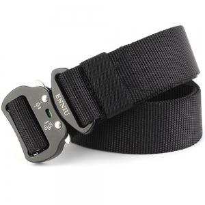 ENNIU Tactical Heavy Duty Waist Belt Quick-Release Military Style Shooters Belt with Metal Buckle -
