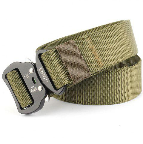 Trendy ENNIU Tactical Heavy Duty Waist Belt Quick-Release Military Style Shooters Belt with Metal Buckle