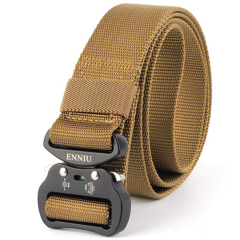 Cheap ENNIU Tactical Heavy Duty Waist Belt Quick-Release Military Style Shooters Belt with Metal Buckle