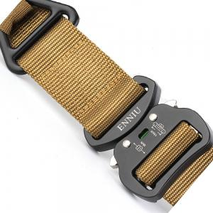 Quick Dry Multi-Function Tactical Military Nylon Belt with Metal Buckle -