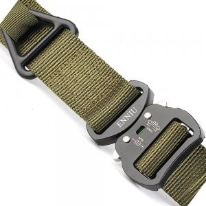 ENNIU Quick Dry Multi-Function Tactical Military Nylon Belt with Metal Buckle -