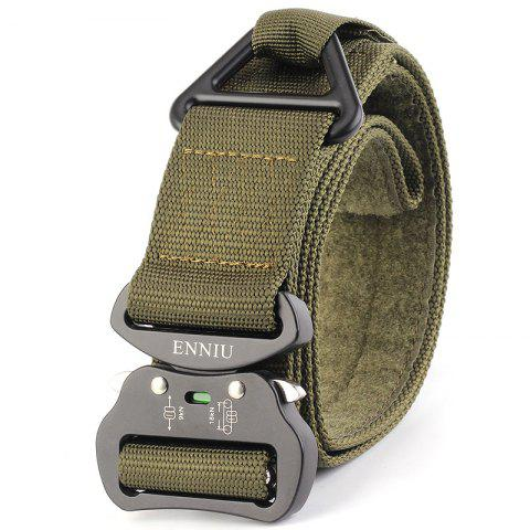 Best Quick Dry Multi-Function Tactical Military Nylon Belt with Metal Buckle
