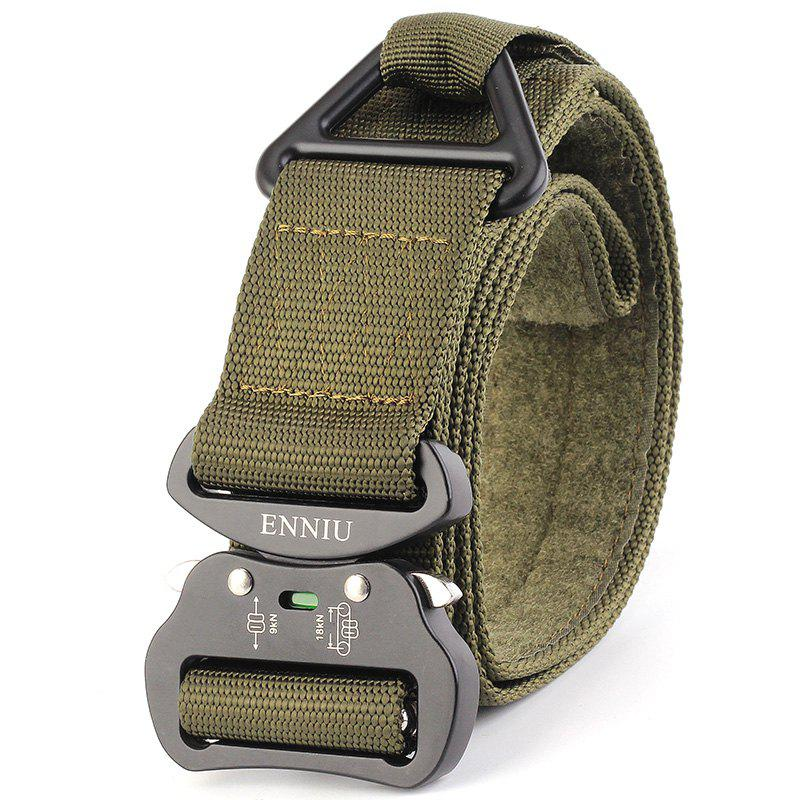 Best ENNIU Quick Dry Multi-Function Tactical Military Nylon Belt with Metal Buckle