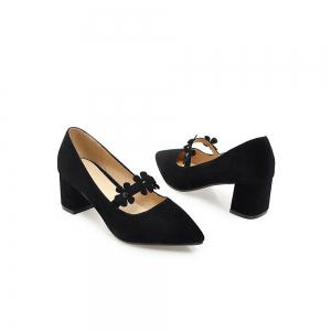 Thick Four Seasons Sweet and Comfortable Women Shoes -