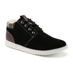Winter Men's High Top Sneakers Casual Ankle Boots -