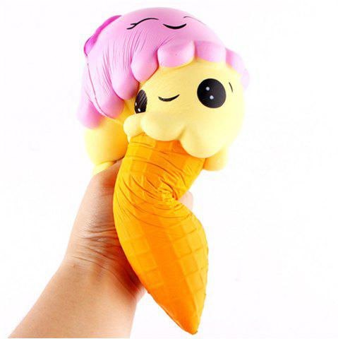 Hot Jumbo Slow Rising Kawaii Cute Squishies Ice Cream Cone Cake Scented of Decompression Toys