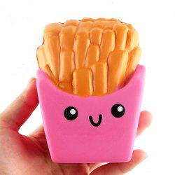 Funny Squishy Toy Made By Enviromental PU Material Replica Chips for Different Age Group -