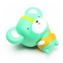 Cartoon Mouse Shape Pull Stretch Squishy Keep Calm Squeeze Stress Relief Toy -