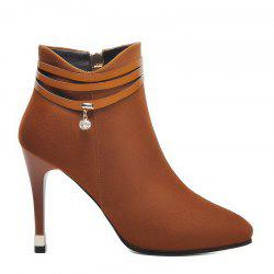 High Heels and Pointed Martin Boots -
