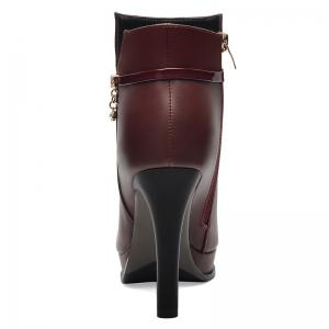 A Stiletto with Martin'S Boots -