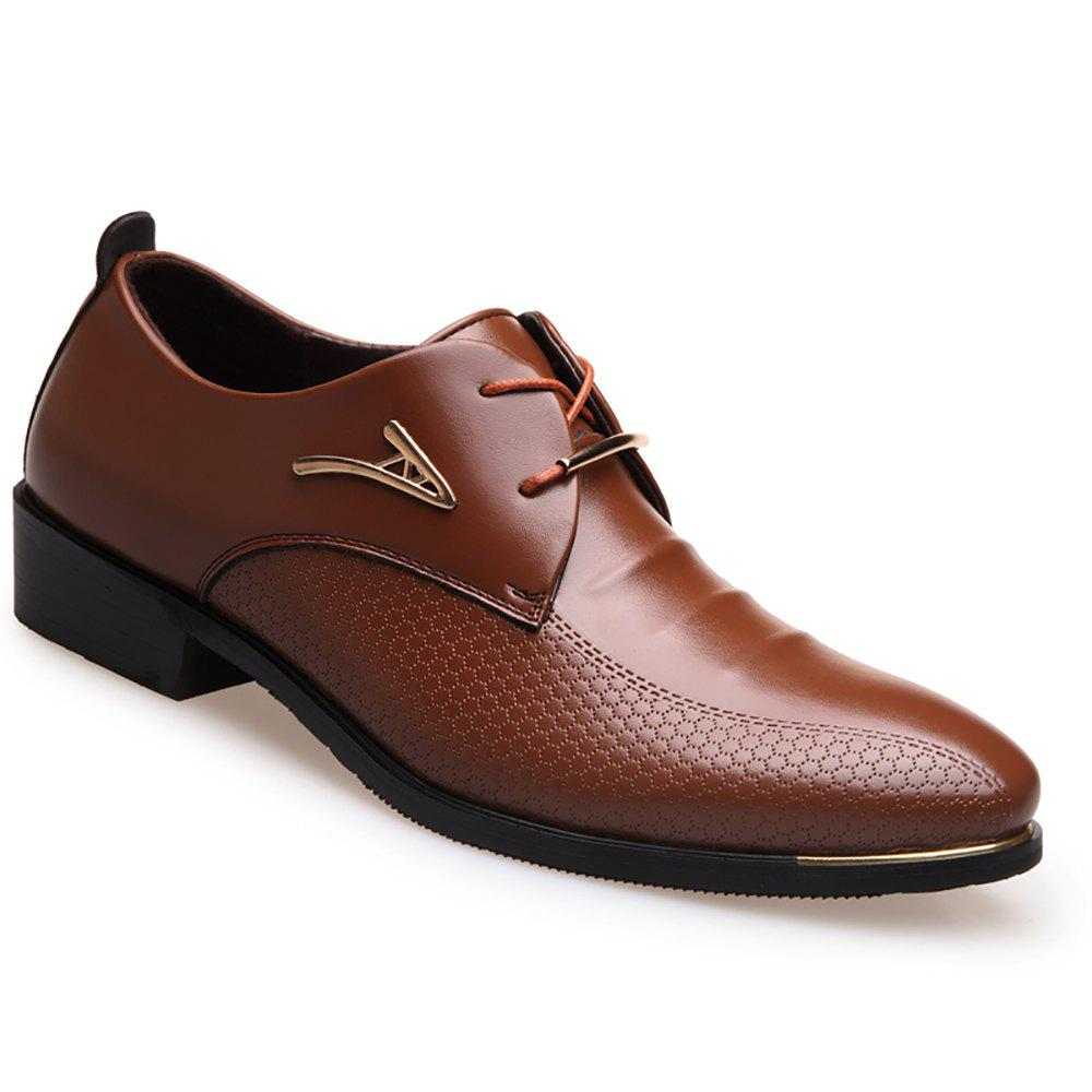 Outfits Business Leisure Leather Shoes Enlarging Code