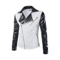 Nouveau mode Slim Zipper Design Men Suit -