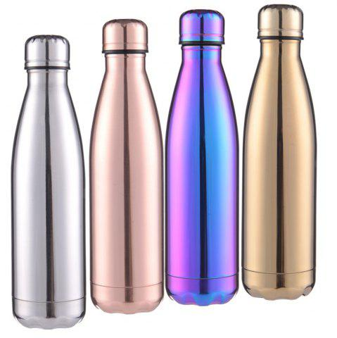 Online Fashion 4 Colors 500ML Stainless Steel Insulated Cup Coffee Tea Thermos Mug Thermal Bottle Thermocup Travel Drink Bottle