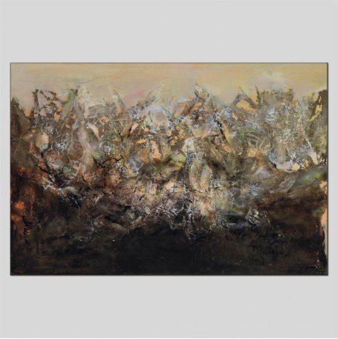 Chic Hua Tuo Abstract Oil Painting Size 60 x 90CM ZWJ - 1317