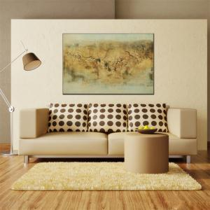 Hua Tuo Abstract Oil Painting Size 60 x 90CM ZWJ - 1323 -