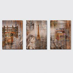 QiaoJiaHuaYuan No Frame Canvas  a Picture of the Living Room Sofa Background Print -