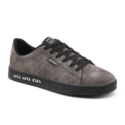 Printemps Dark Style Fashion Hommes Flats Chaussures
