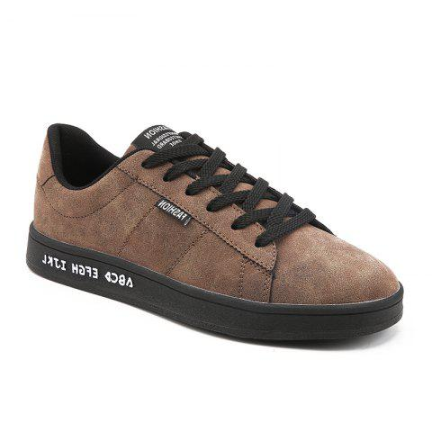 Store Spring Dark Style Fashion Men Flats  Shoes